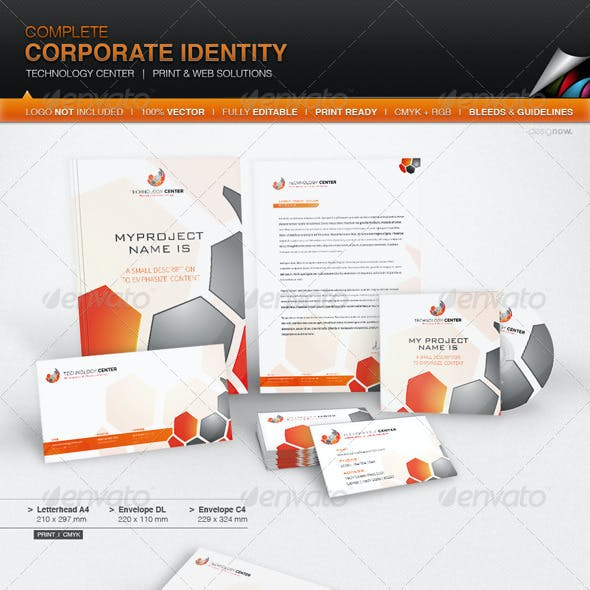 Corporate Identity - Technology Center