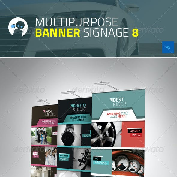 Multipurpose Banner Signage 8