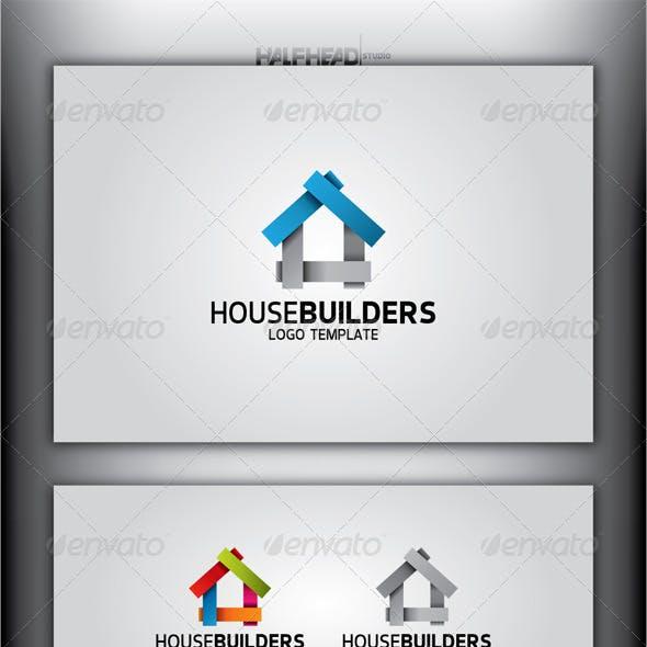 HouseBuilders Logo Template