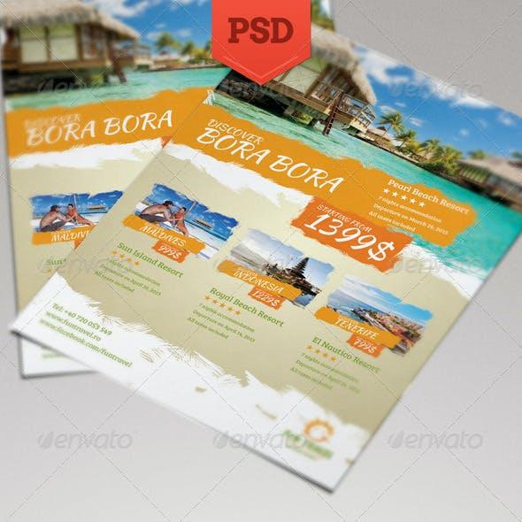 Fun Travel Flyer