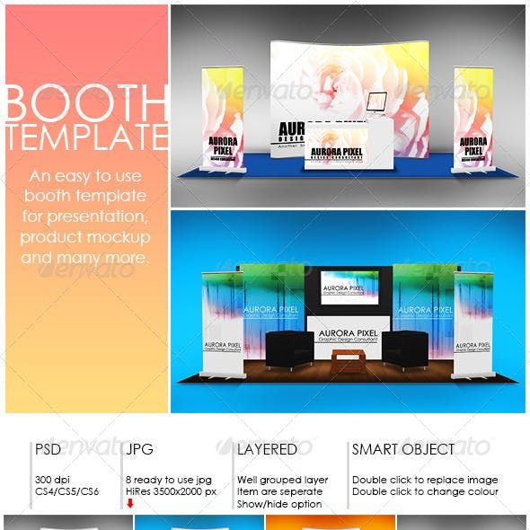 Booth Template Part 7