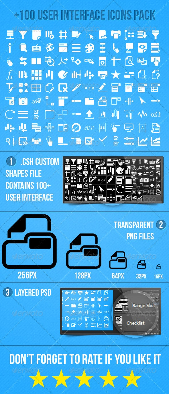 User Interface Icons Pack - Icons