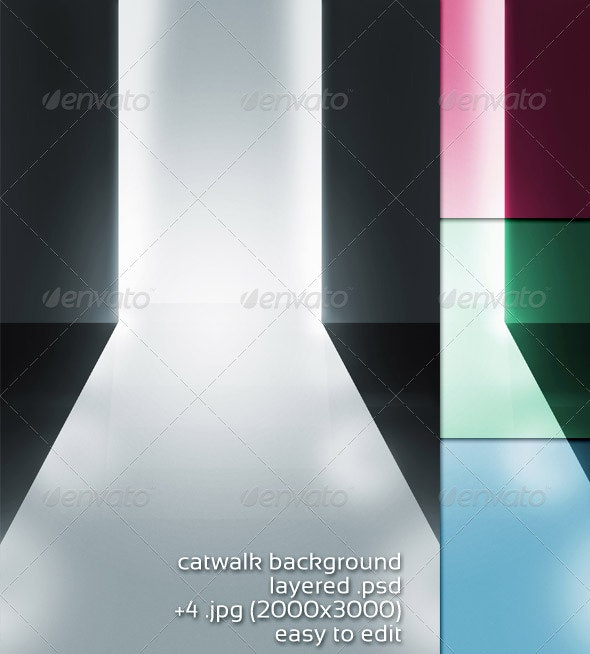Catwalk Background - 3D Backgrounds