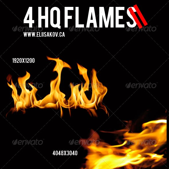 Isolated Flame Pack 2