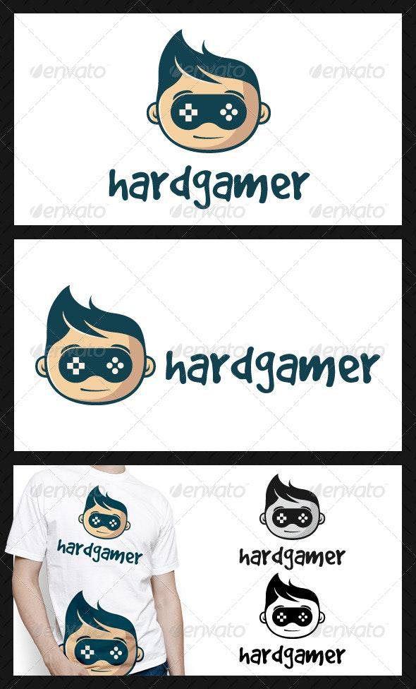 Geek Game Logo Template - Humans Logo Templates