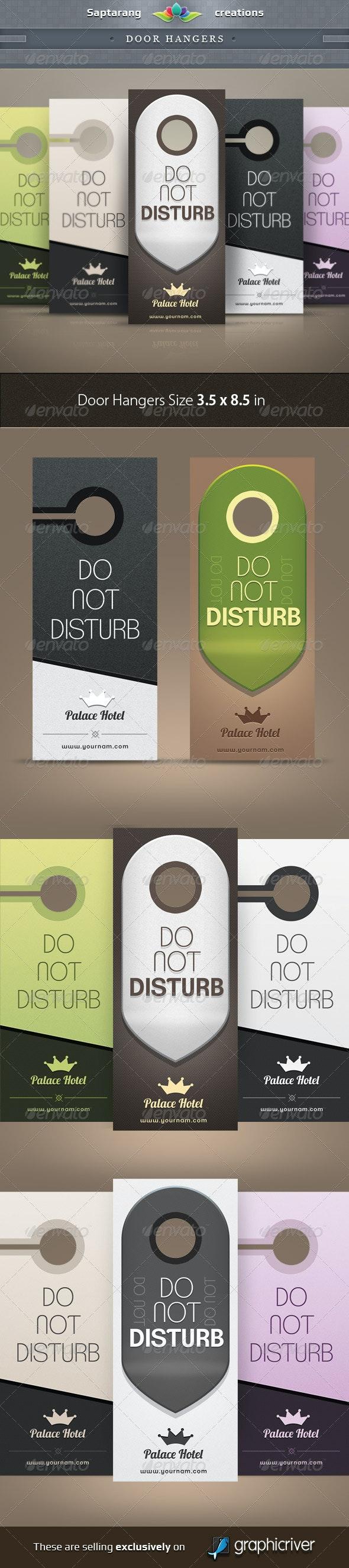 Door Hangers - Miscellaneous Print Templates