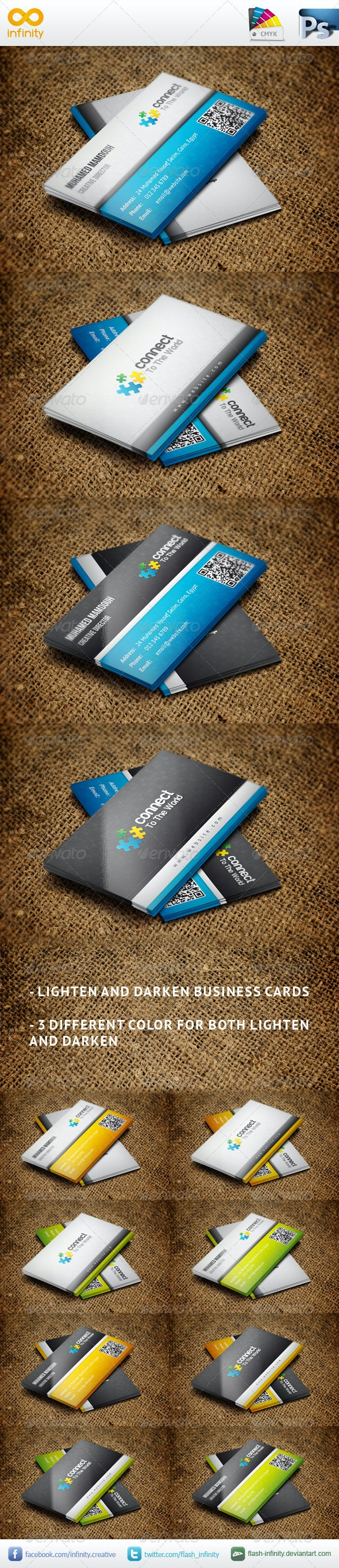 Classic Business Card V2 - Business Cards Print Templates