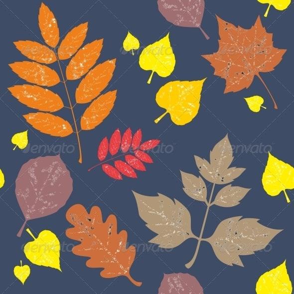 Seamless Leaf Ornament 548 - Patterns Decorative