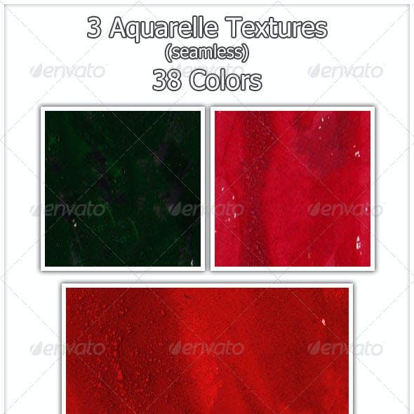 Aquarelle Textures (seamless)