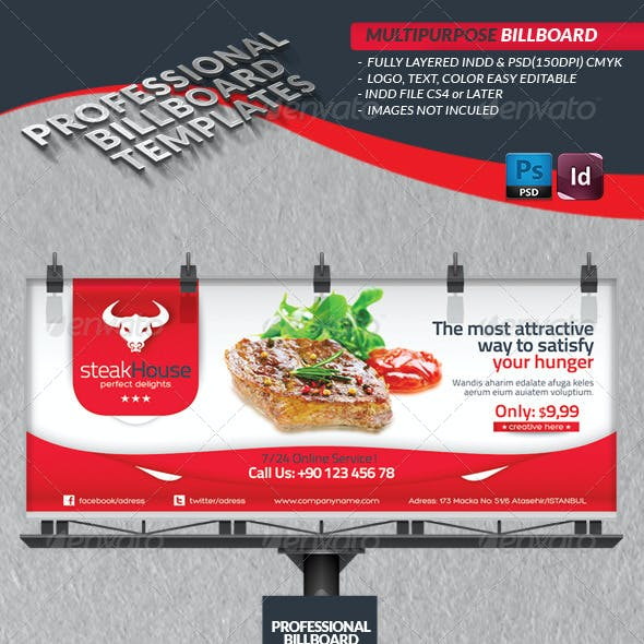 Multipurpose Billbord Template