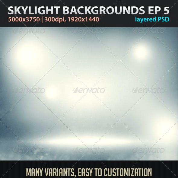 Skylight Backgrounds EP 5