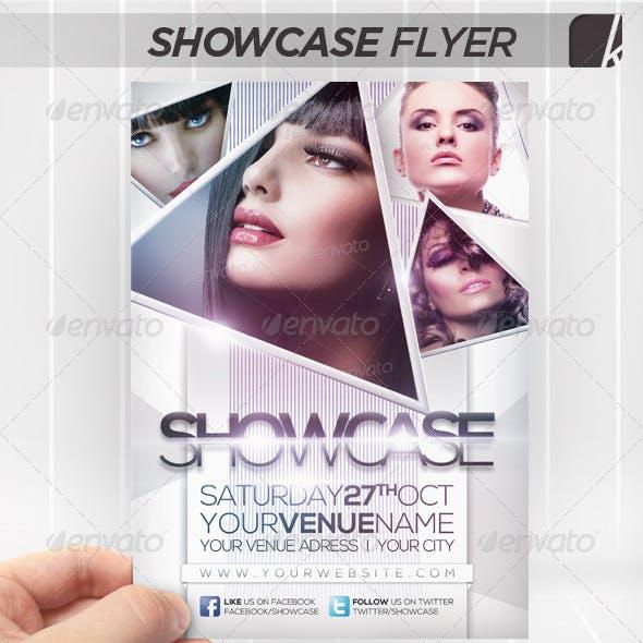 Showcase Flyer A5