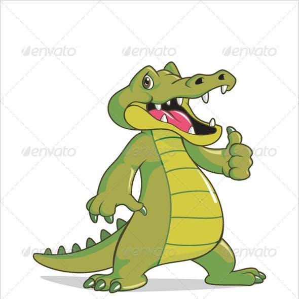 Happy Crocodile