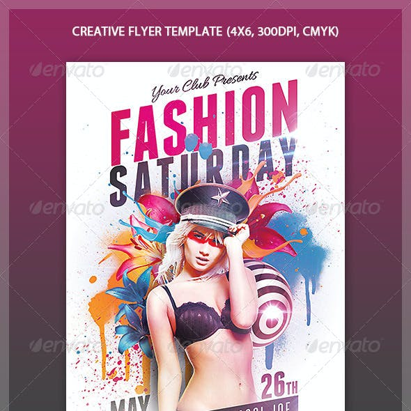 Creative Style Flyer Template