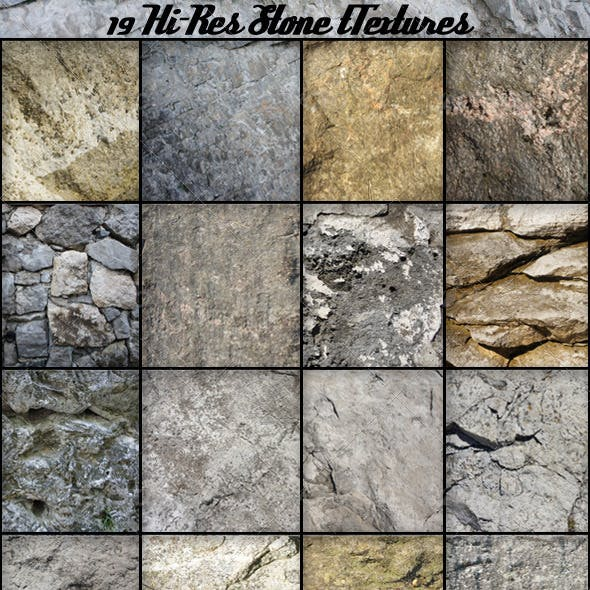 19 Stone Textures