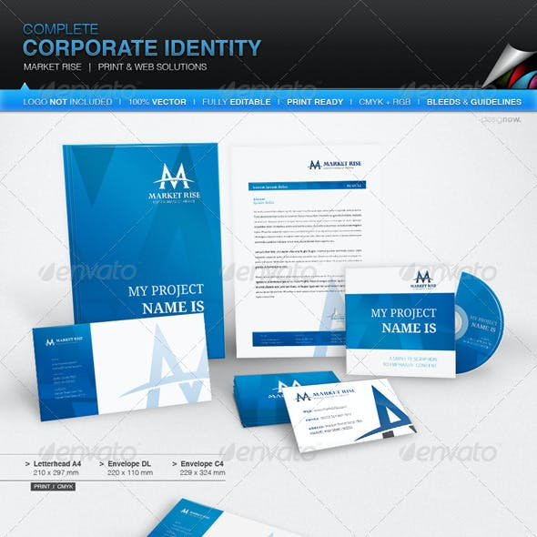 Corporate Identity - Market Rise