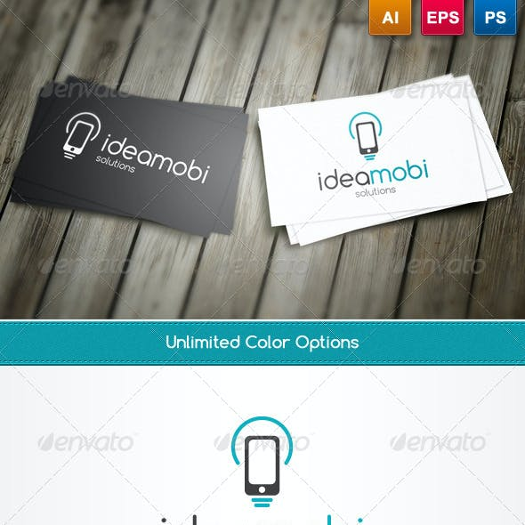 IdeaMobi Logo Template