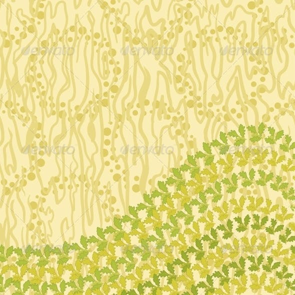 Abstract Pattern and Leaves