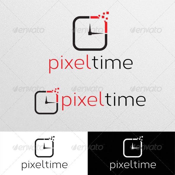 Pixel Time Logo