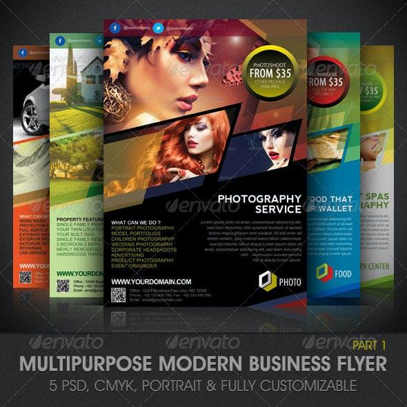 Multipurpose Modern Business Flyer Template