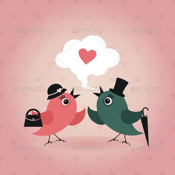 Bird of Love 7 - Animals Characters