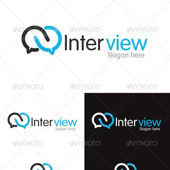 Interview Logo Template