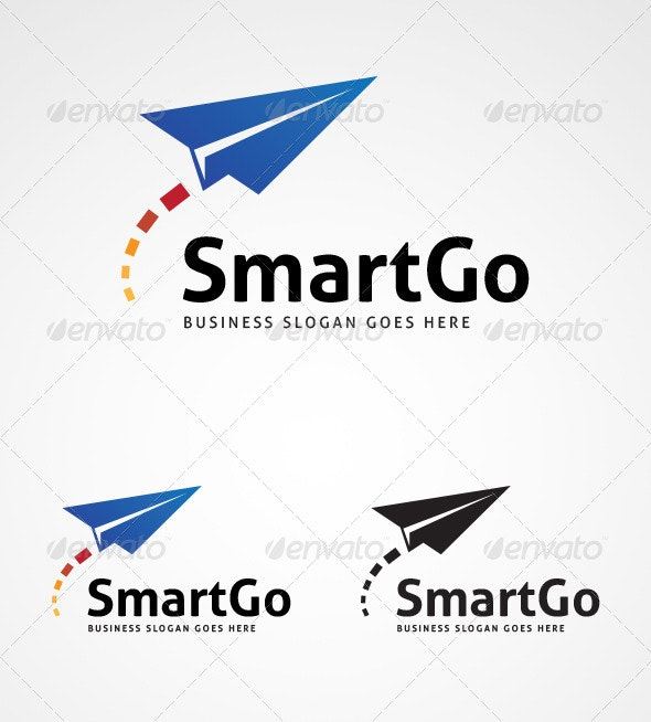 SmartGo Logo Design - Abstract Logo Templates