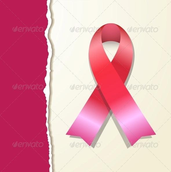 Pink Ribbon - Decorative Symbols Decorative
