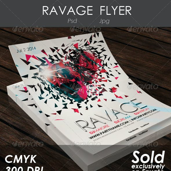 Ravage Flyer