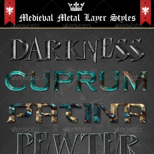 Medieval Metal Layer Styles