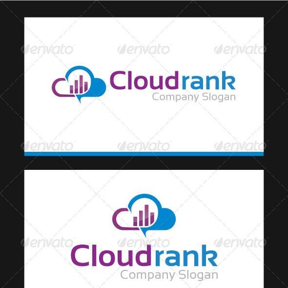 Cloud Rank Logo Template