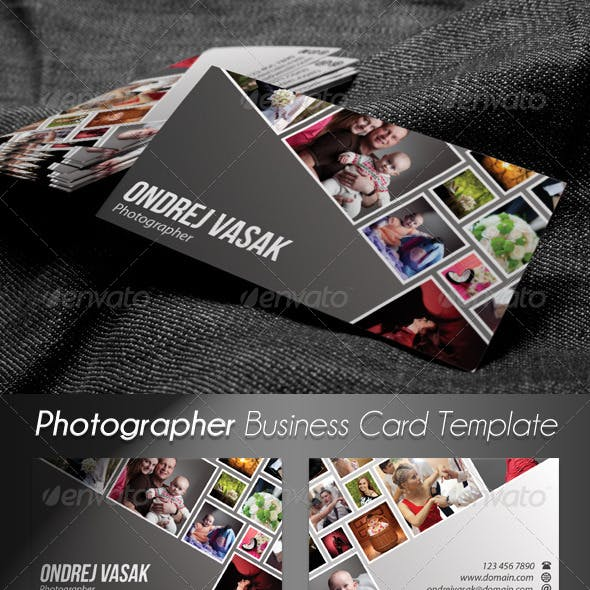 Photographer Artist Business Card 2