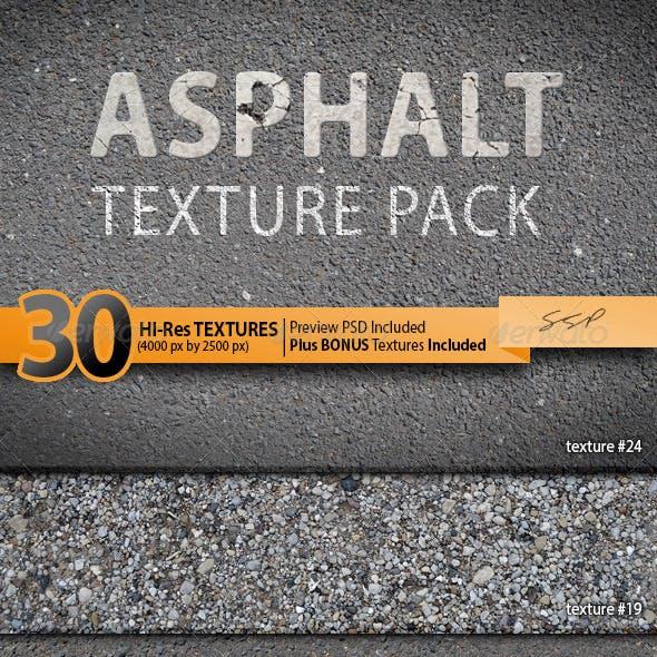 30 Hi-Res Asphalt Textures