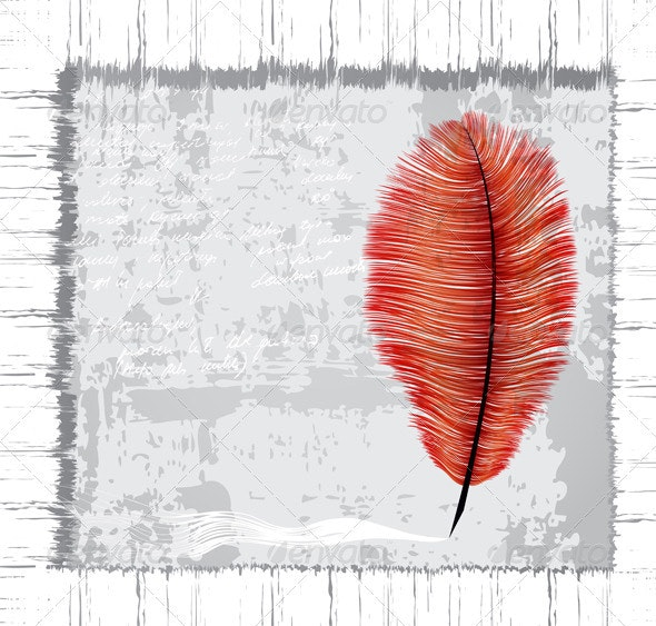 Feather - Backgrounds Decorative