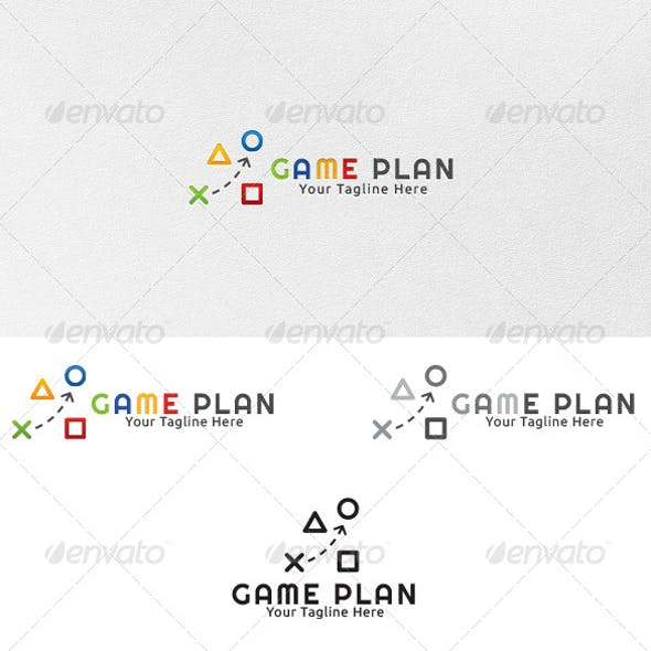 Game Plan - Logo Template