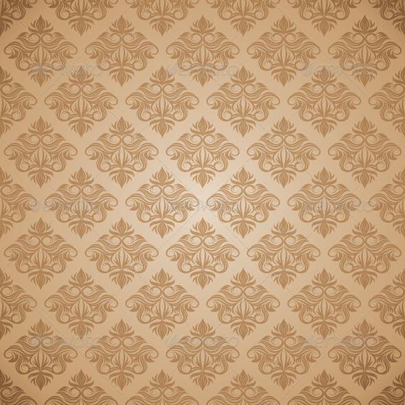 Decorative Swirl Ornament Pattern