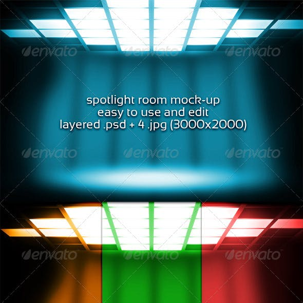 Spotlight Room Mock-up