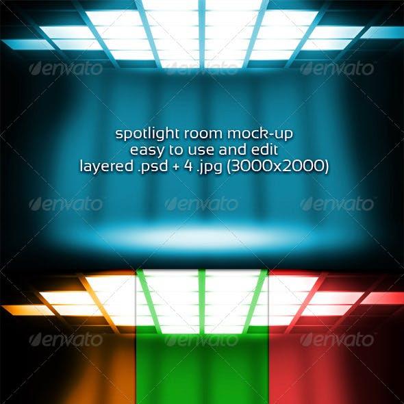 Spotlight Room Mock-up