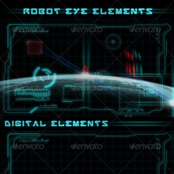 Robot Eye Elements