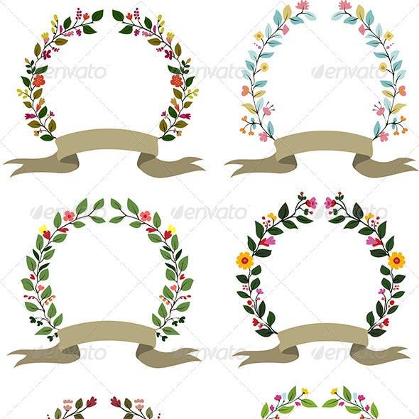 Floral Photo Frames