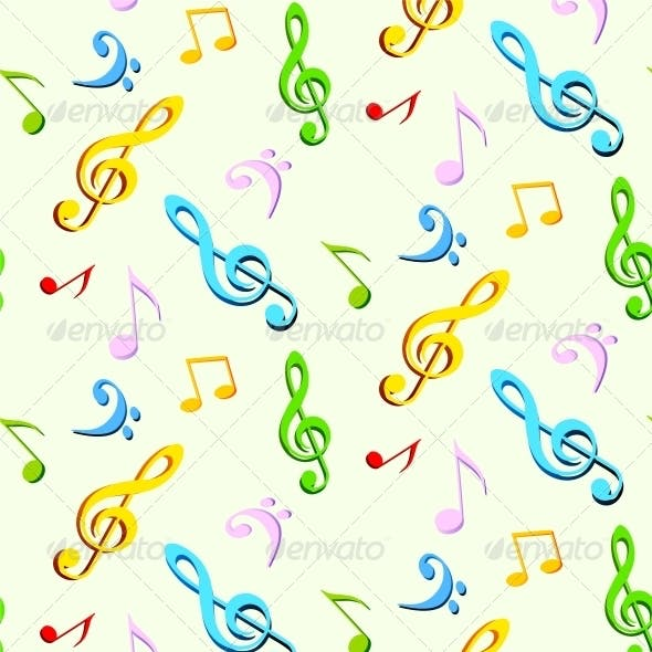 Music Seamless Background