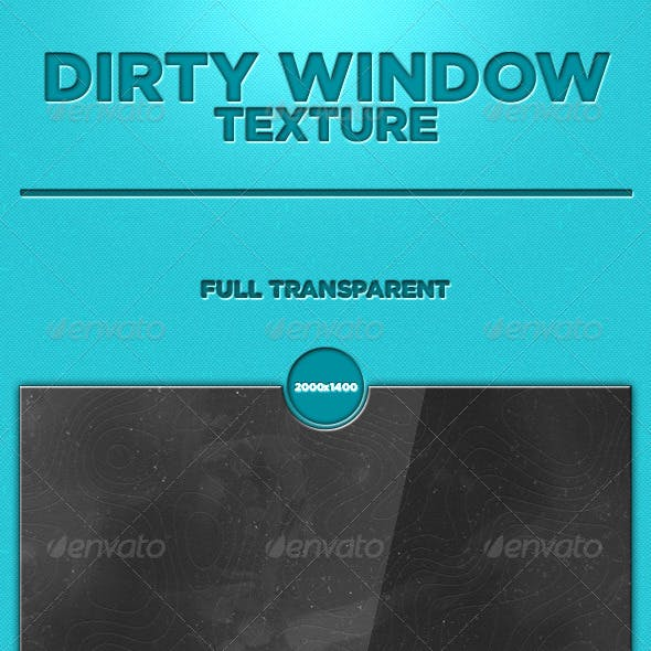 Dirty window texture