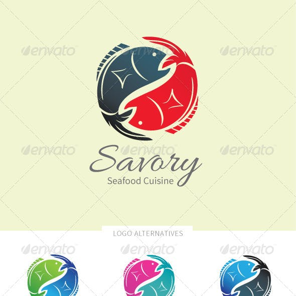 Versatile Fish Logo Template
