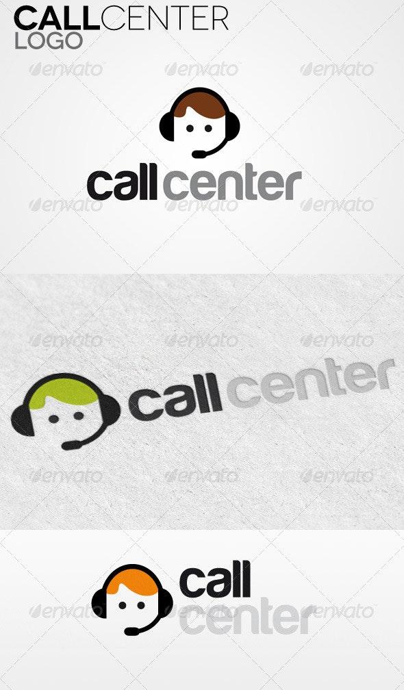 Call Center Logo - Humans Logo Templates