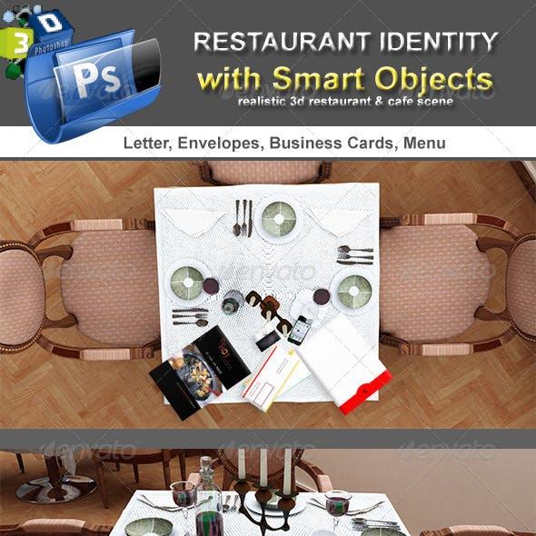 Table Scenes Restorant Identity