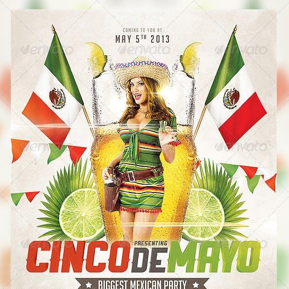 Cinco de Mayo Party Flyer 3