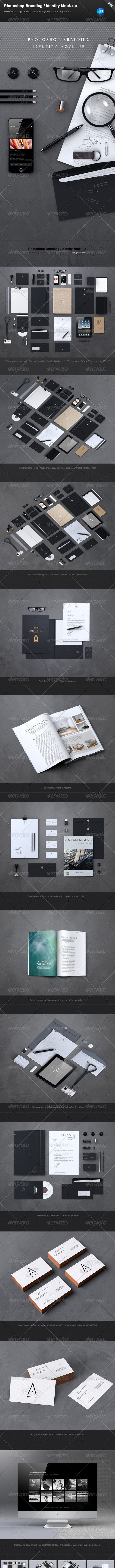 Stationery / Branding Mock-Up - Print Product Mock-Ups