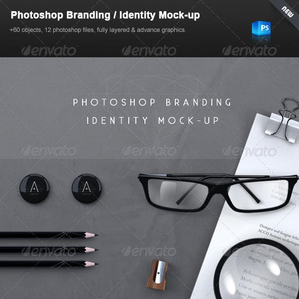 Stationery / Branding Mock-Up