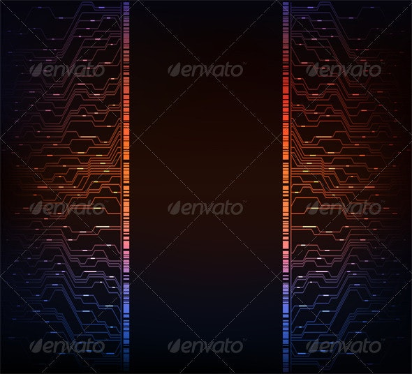 Abstract background - Borders Decorative