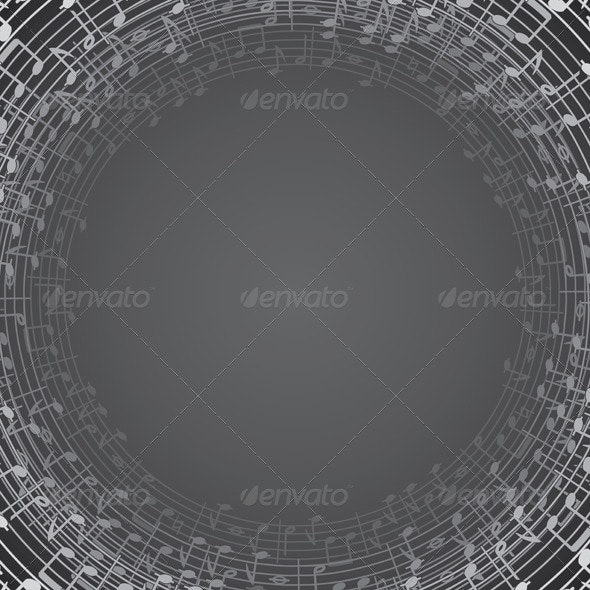 Music Background Template for your Text or Design - Backgrounds Decorative
